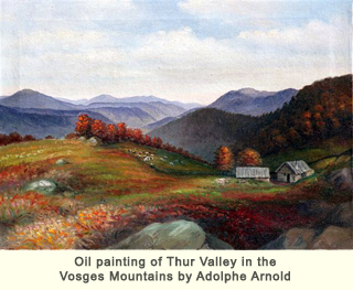 Vosges Oil Painting